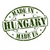Gemaakt in hongarije — Stockvector