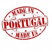 Gemaakt in portugal — Stockvector