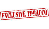 Exclusive tobacco — Stock vektor