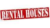 Verhuur huizen — Stockvector