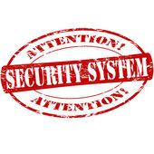 Security system — Stock Vector