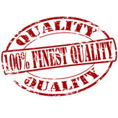 Finest quality — Stock Vector