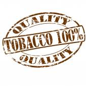 Tobacco one hundred percent — Stock Vector