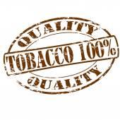 Tobacco one hundred percent — Stock vektor