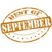 Meilleur de septembre — Vecteur
