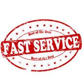 Service rapide — Vecteur