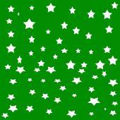 White stars — Stock Vector
