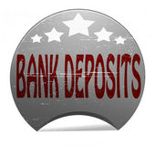 Bank deposits — Stock Vector
