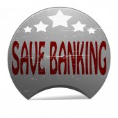 Save banking — Stock Vector
