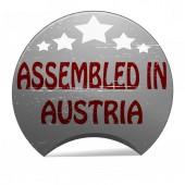 Assembled in Austria — Stockvektor