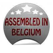 Monteras i belgien — Stockvektor