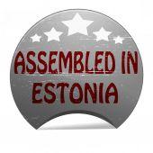 Assembled in Estonia — Stockvektor