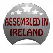 Monteras i irland — Stockvektor