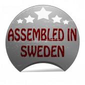 Assembled in Sweden — Stock vektor