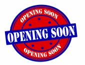 Opening soon — Stock vektor