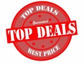 Top deals — Stock Vector