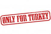 Jen pro Turecko — Stock vektor