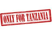 Solo per tanzania — Vettoriale Stock