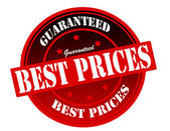 Mejores precios — Vector de stock