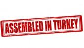 Monteras i Turkiet — Stockvektor