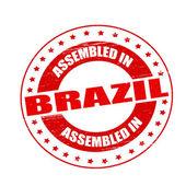 Собрались в Бразилии — Cтоковый вектор