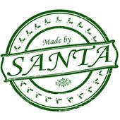 Gemaakt door santa — Stockvector