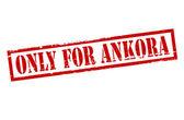 Sólo para ankora — Vector de stock