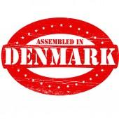 Assembled in Denmark — Stock Vector