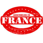 Assembled in France — Stock Vector