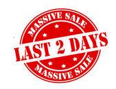 Massive sale — Stock Vector