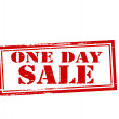 One day sale — Stock Vector #54519089