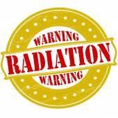 警告放射線 — ストックベクタ