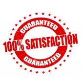 100% satisfação — Vetorial Stock