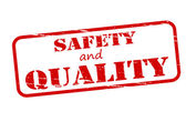 Safety and quality — Stock Vector