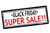 Black Friday super sale — Stock Vector