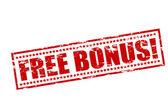 Free bonus — Stock Vector