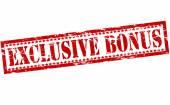 Exclusive bonus — Stock Vector
