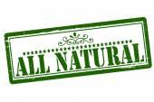 Todo natural — Vector de stock