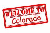 Welcome to Colorado — Stock Vector
