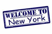 Bem-vindo a nova york — Vetorial Stock