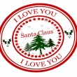 I love you Santa Claus — Stock Vector #57571109