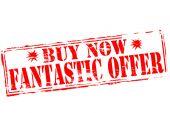 Fantastic offer — Stock Vector