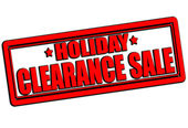 Clearance sale — Vector de stock