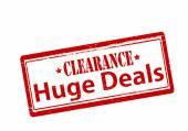 Huge deals — Wektor stockowy