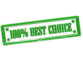 One hundred percent best choice — Stock Vector