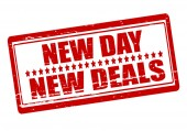 New day new deals — Vecteur
