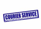 Courier service — Vector de stock