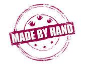 Wykonane ręcznie — Wektor stockowy