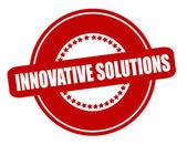 Inovativní řešení — Stock vektor