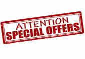 Attention special offers — Stock Vector